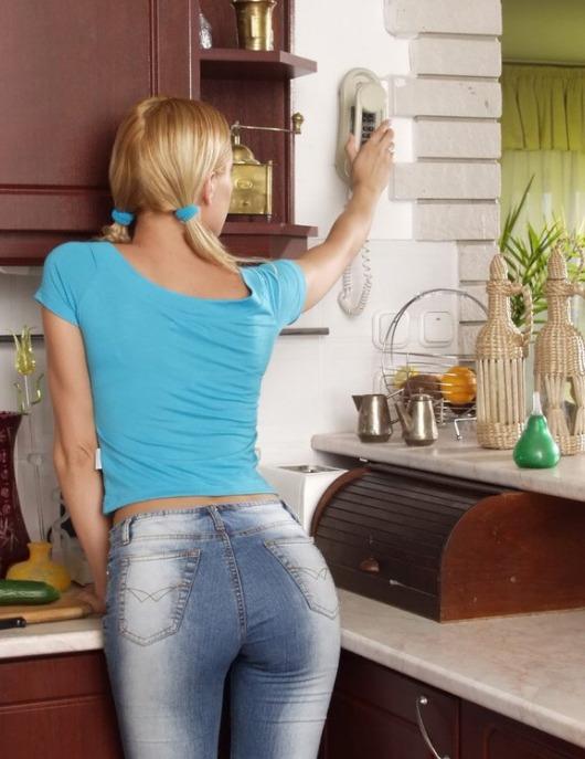 Sexy Knackarsch in der Jeans