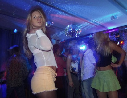 Geile nackte Party Girls